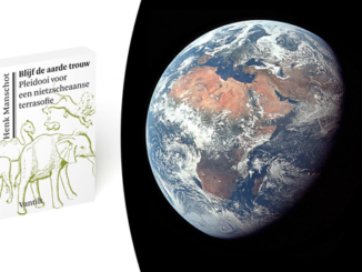 Planet Earth floating book cover